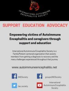 poster 227x300 - Autoimmune Encephalitis Handouts and Fact Sheets