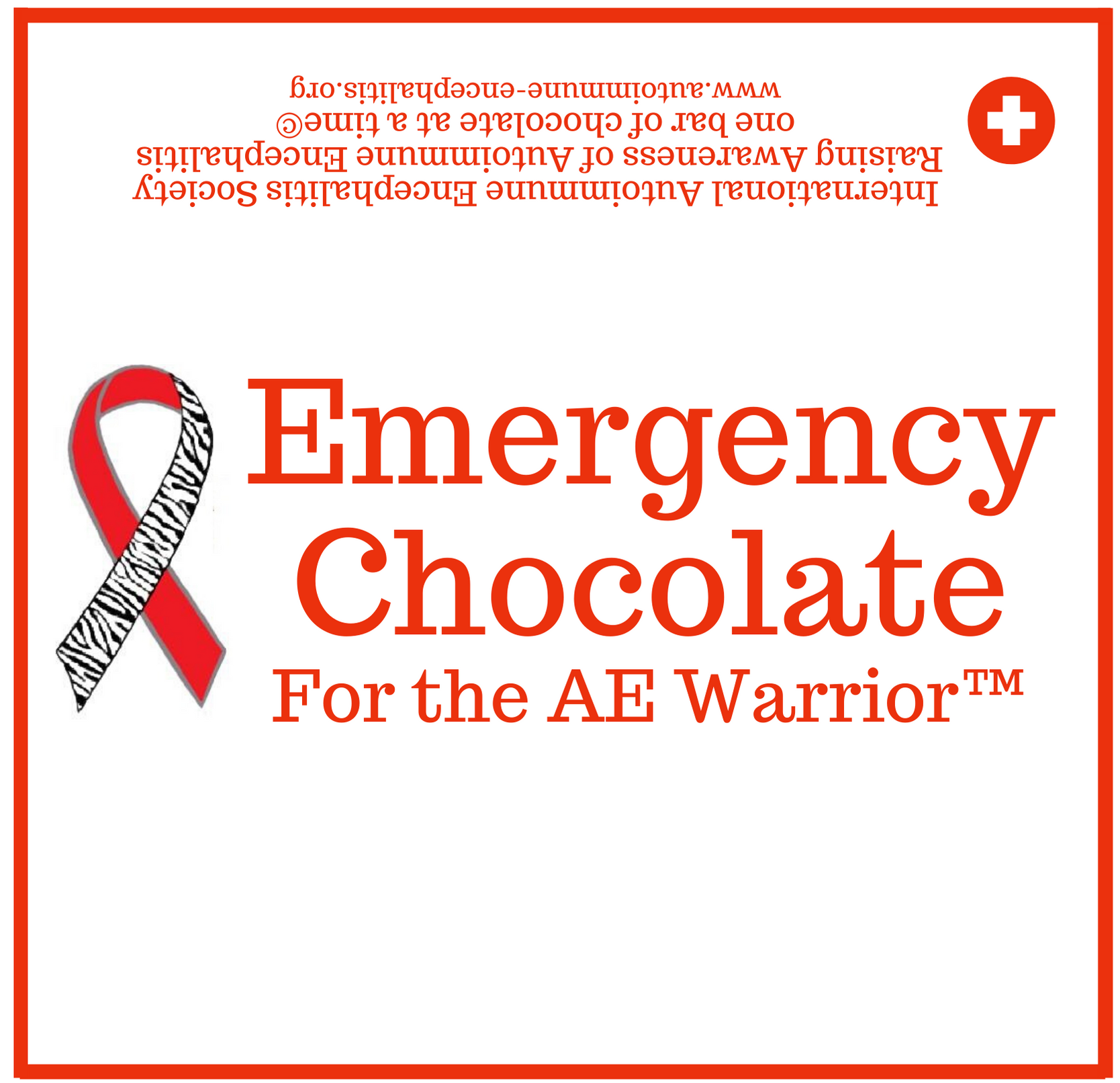 Emergency Chocolate for the AE Warrior  Candy Wrapper 5 9 16  x 5 3 8  1 - Downloads