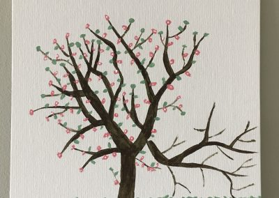 Picture 5 Spring tree 400x284 - 2020 IAES Virtual Art Show
