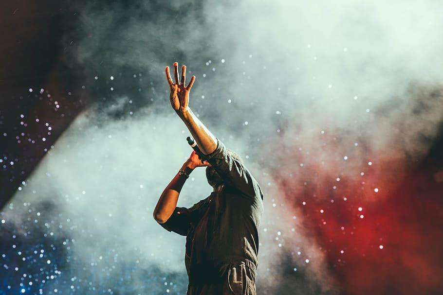 concert singer singing stage - Patient & Caregiver Support