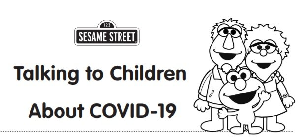 Talking to Children about COVID 19 handout image - #StrongerTogether