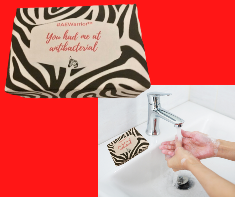 You had Me at Antibacterial-bar of Soap wrapper-FB
