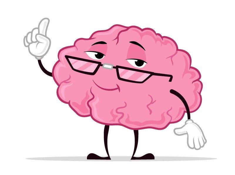 brain with an idea